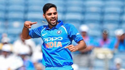 Bhuvi with five superman-punches shell-shock South Africa