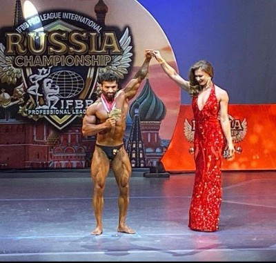 Vipin Yadav Wins In Bodybuilding competition held in Russia, Pride Moment for Indian Bodybuilding
