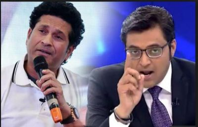 Arnab Goswami called Sachin Tendulkar anti-national on his view  on WC 2019