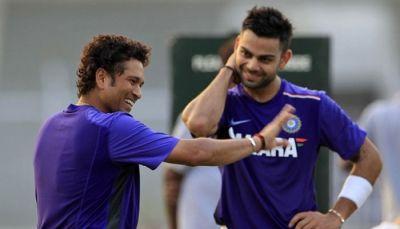 Virat Kohli surpasses Sachin Tendulkar to become the fastest to score 19000 international runs
