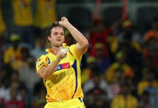 Chennai Super Kings pay tribute to Albie Morkel on his retirement