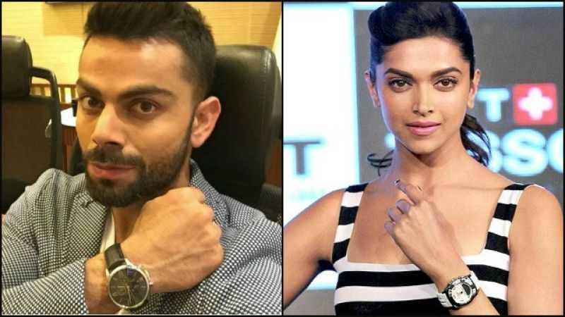 Virat Kohli and Deepika Padukone are the