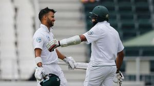 JP Duminy and Hashim Amla took over the match by 338/3