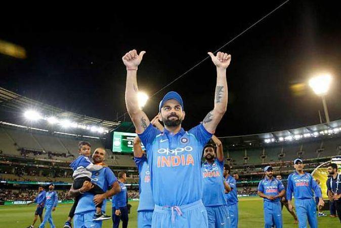 Virat Kohli becomes first cricketer to won top three ICC awards in same calender year