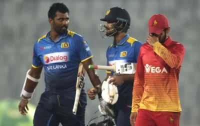 First victory for Sri Lanka in the triangular series and 2018
