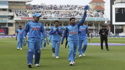 India beat England by 8 wickets in first ODI