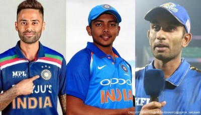 BCCI announced India's Squad For England Test, Surya and Prithvi Included In Replacement