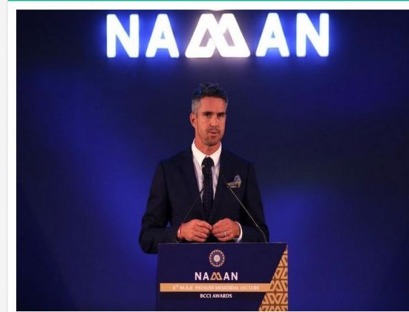 Kevin Pietersen delivers his maiden lecture at BCCI event