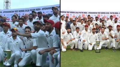 Team India offers Eid's biggest 'gift' to Afghan players