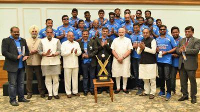 Prime Minister Narendra Modi praises Team India