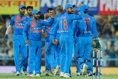 Indian team all set for the first T20 match against Ireland