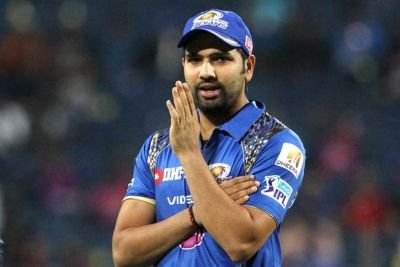 MI Captain Rohit Sharma fined for showing dissent