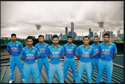 Indian cricket team released the new jersey