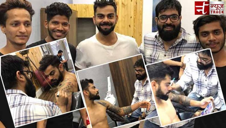 Omg Virat Kohli With A New Tattoo See Pics News Track