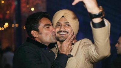 Kiss of the century: When Kaif kissed Harbhajan, See pics
