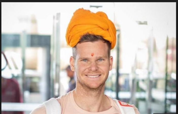 IPL 2019: Rajasthan Royal gives a royal welcome to Steve Smith