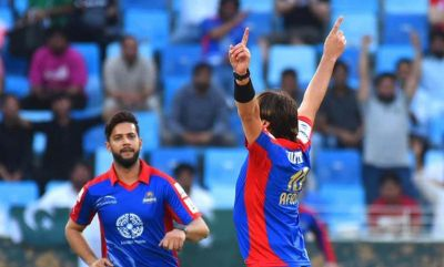 Shahid Afridi hits four consecutive sixes in PSL 2018