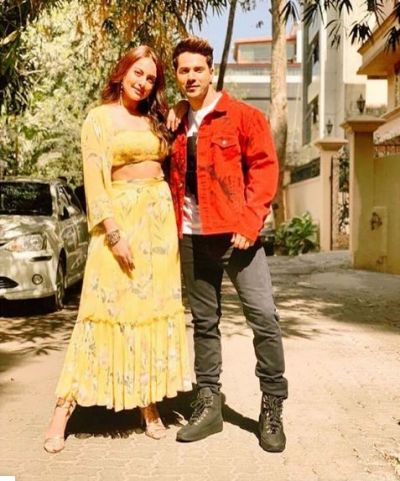 Kalank co-stars Sonakshi Sinha and Varun Dhawan will attend the IPL opening match