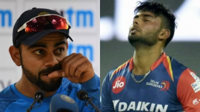 Rishabh Pant Reveals he is scared of Virat Kohli's anger