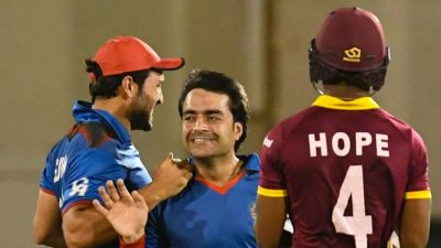 Rashid Khan becomes fastest bowler to take 100 wicket