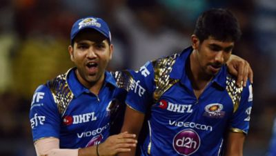 After victory against RCB,Rohit Sharma lauds Jasprit Bumrah