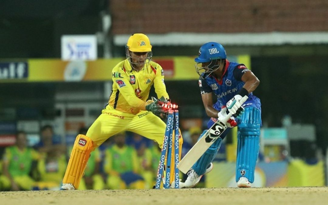 MS Dhoni credits tennis ball cricket for his outstanding skills behind the stumps