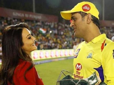 Preity Zinta reveals what she told MS Dhoni after CSK vs KXIP match