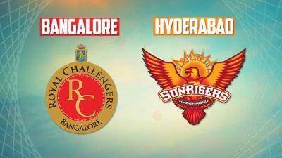 IPL 2018  Live Match 39 RCB vs SRH: Kohali wins toss