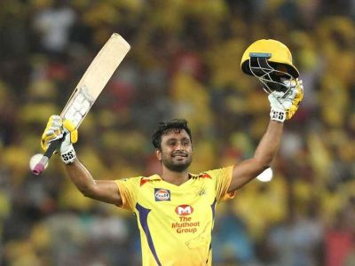 IPL 2018 : Rayudu  reaches number four in the list of highest run scorer in 11th season