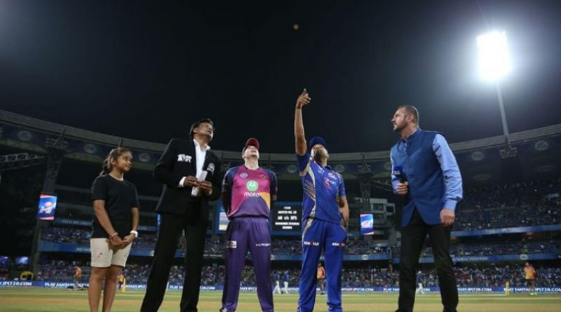 IPL 10 first qualifier to be played between Mumbai Indians and Rising Pune supergiants today
