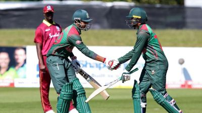 Bangladesh beat West Indies by 5 wickets to win the Tri-Nation series