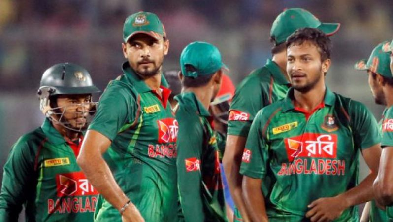 Bangladesh team moved to sixth place in ODI team rankings