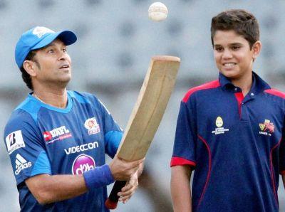 Sachin Tendulkar advises son Arjun to not to take shortcuts in life