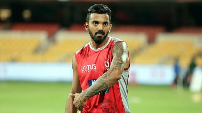 KL Rahul performs his best at the warm-up match