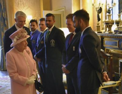 Virat Kohli and other captains meet Queen Elizabeth ahead of World Cup opening match