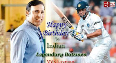 Happy Birthday to Indian Legendary Batsmen VVS Laxman