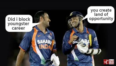 """""""MS never Block the way for the youngster, but he always creates land of opportunity"""": Virender Sehwag"""