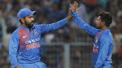 ICC T20 rankings: Kuldeep Yadav reaches career-best, Rohit sharma jumps three places