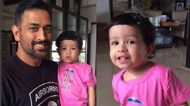 Watch video: Mahendra Singh Dhoni's daughter Ziva greets him in two languages