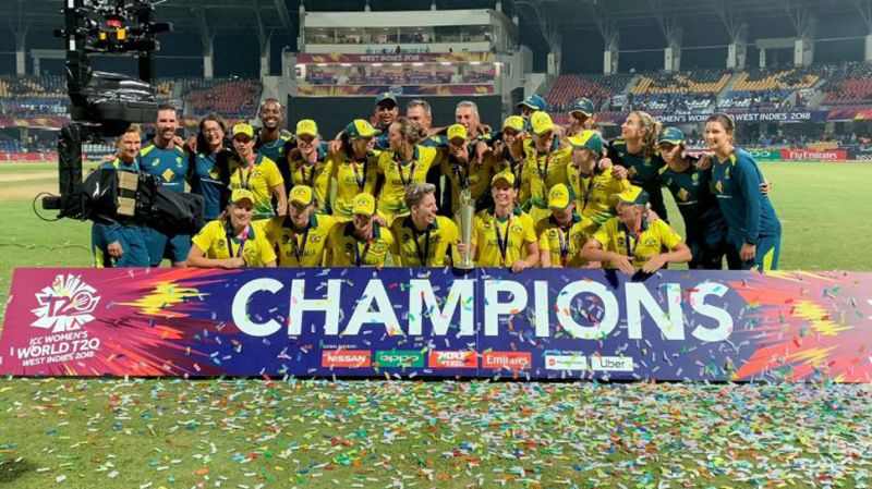 Australia beat England by eight wickets to claim their fourth World T20 title