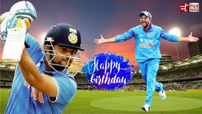 Wishing Suresh Raina a very happy birthday