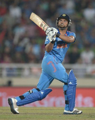Suresh Raina teasing for his comeback return in the squad.