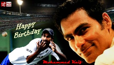 Former Indian batsmen Mohammad Kaif turn 37 today.