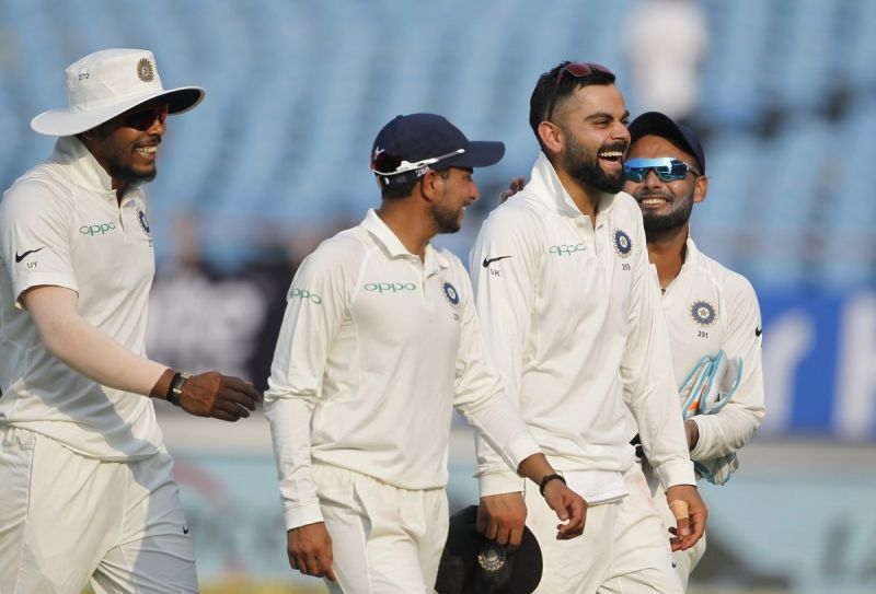 RajkotTest IND VS WI: WestIndies all out for 181 in 1st innings, Play follow on