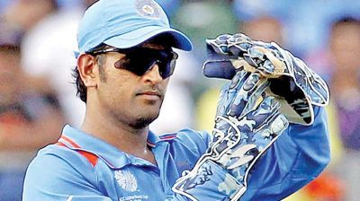 MS Dhoni becomes the only seventh Indian to hit 750 Fours in ODI's format.