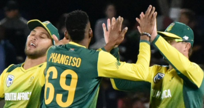 South African beat Bangladesh by 20 runs in T-20I.