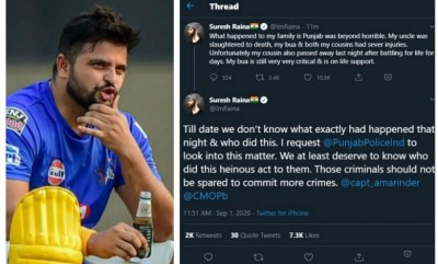 Suresh Raina gave this shocking statement about his uncle!