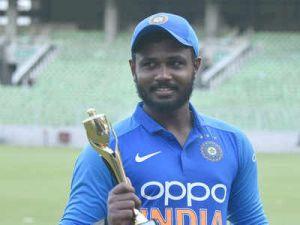 Sanju Samson donates his match fees to groundsmen