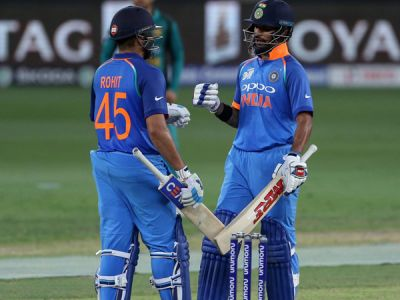 Rohit, Dhawan's super 100  cemented final birth for India in Asia Cup finals