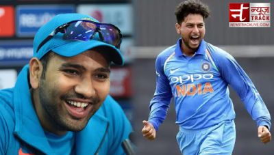 ICC ODI Rankings: Rohit Sharma reaches to second place , Kuldeep Yadav jumps to third